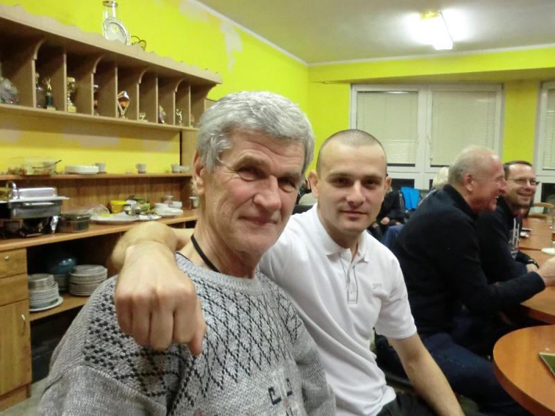 Miloš Vavrys a Ondřej Banasinski